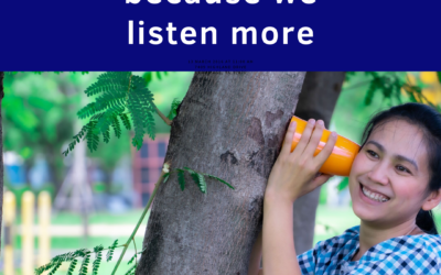 The Value of Talking Less and Listening More